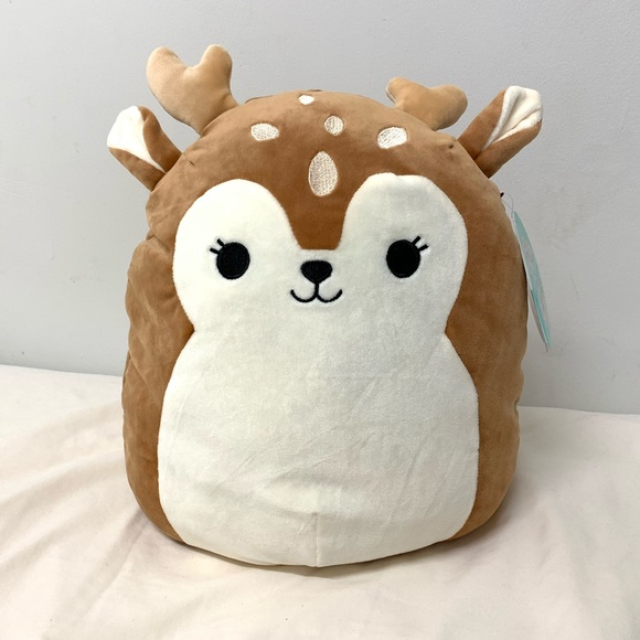 Squishmallow Other Squishmallow Dawn Deer Plush Poshmark If you're looking for a cute keychain for your bag, then ivy the deer from justice squishmallow is perfect for you. squishmallow dawn deer plush